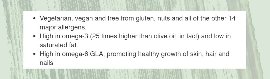 Holland & Barrett Hemp Oil Description
