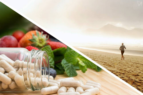 Lifestyle exercise food supplements