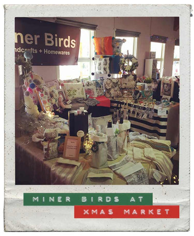 Miner Birds at Xmas Market