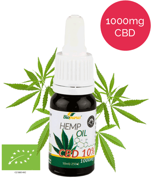 10% CBD Oil Organic UK (1000mg in 10ml) - 4-month supply-for the Ageless