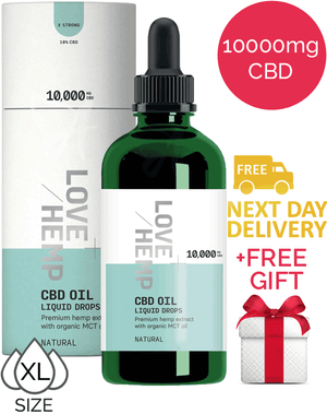 10000mg CBD oil (10%) – Love Hemp