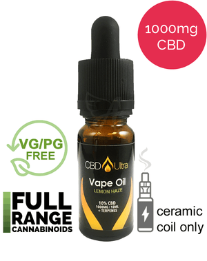 1000mg Vape Oil - CBD Ultra - Lemon Haze
