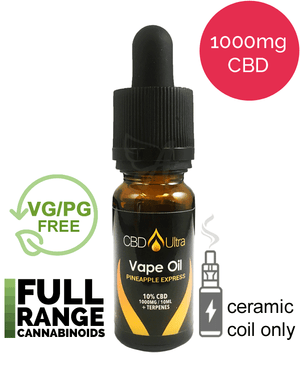 1000mg Vape Oil - CBD Ultra - Pineapple Express