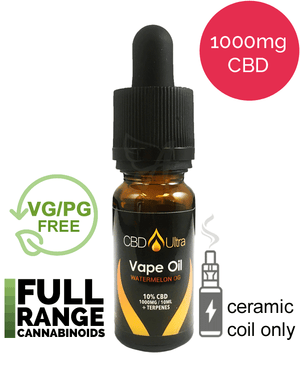 1000mg Vape Oil - CBD Ultra - Watermelon OG