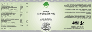 14 in 1 Anti-Aging Supplements - Super Antioxidant Plus | G&G-for the Ageless