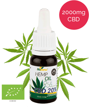 20% Organic CBD Oil (2000mg in 10ml) Biopurus UK-for the Ageless