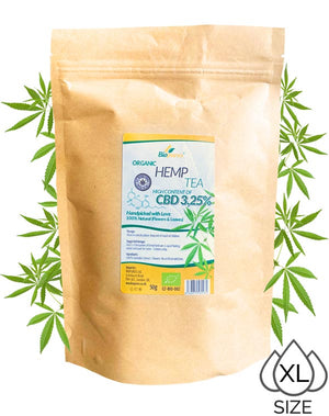 3.25% Biopurus Hemp Tea