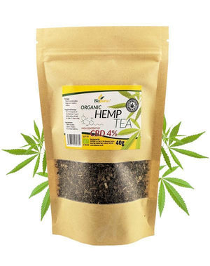 4% CBD Hemp Tea - Strong & Organic | Biopurus UK-for the Ageless