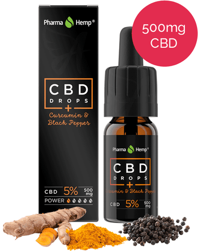 5% PharmaHemp CBD Oil with Turmeric