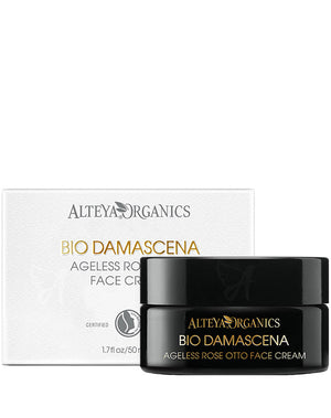 Ageless Face Cream Rose Otto Alteya Organics
