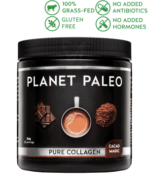 Cacao Magic Pure Collagen – Planet Paleo