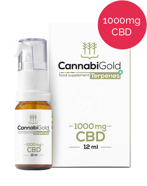 CannabiGold Terpenes+ 1000mg CBD oil