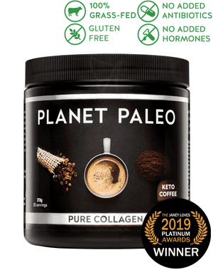 Keto Coffee Pure Collagen – Planet Paleo