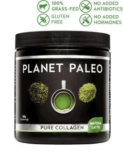 Matcha Latte Pure Collagen – Planet Paleo