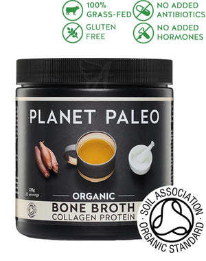 Organic bone broth collagen powder - Planet Paleo