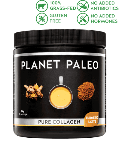 Turmeric Latte Pure Collagen – Planet Paleo