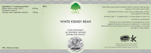 White Kidney Bean label