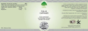 Cal-M - Natural Wellbeing & Relaxation (capsules) G&G Vitamins-for the Ageless