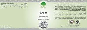 Cal-M - Natural Wellbeing & Relaxation Powder - G&G Vitamins-for the Ageless