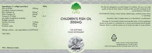 Children's Fish Oil & Vitamin E - Peruvian Anchovies | G&G UK-for the Ageless