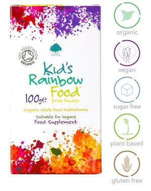 Kid's Rainbow Food - Multivitamin Powder for Children (Organic) G&G-for the Ageless