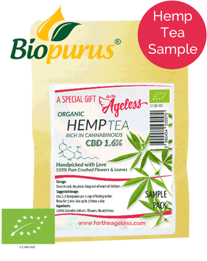 Loose Hemp Tea Sample (Biopurus)-for the Ageless
