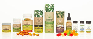 Love Hemp CBD Spray UK - 3 flavours - Organic (200mg in 30ml)-for the Ageless