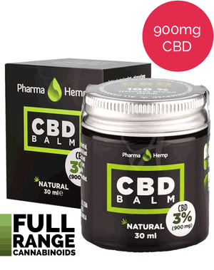 Strong CBD Balm (900mg in 30ml) Pharmahemp UK-for the Ageless