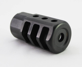 SBI Hex Brake - 223/5.56mm - US Mil-Spec 316 Stainless Steel with Black Nitride Coating.