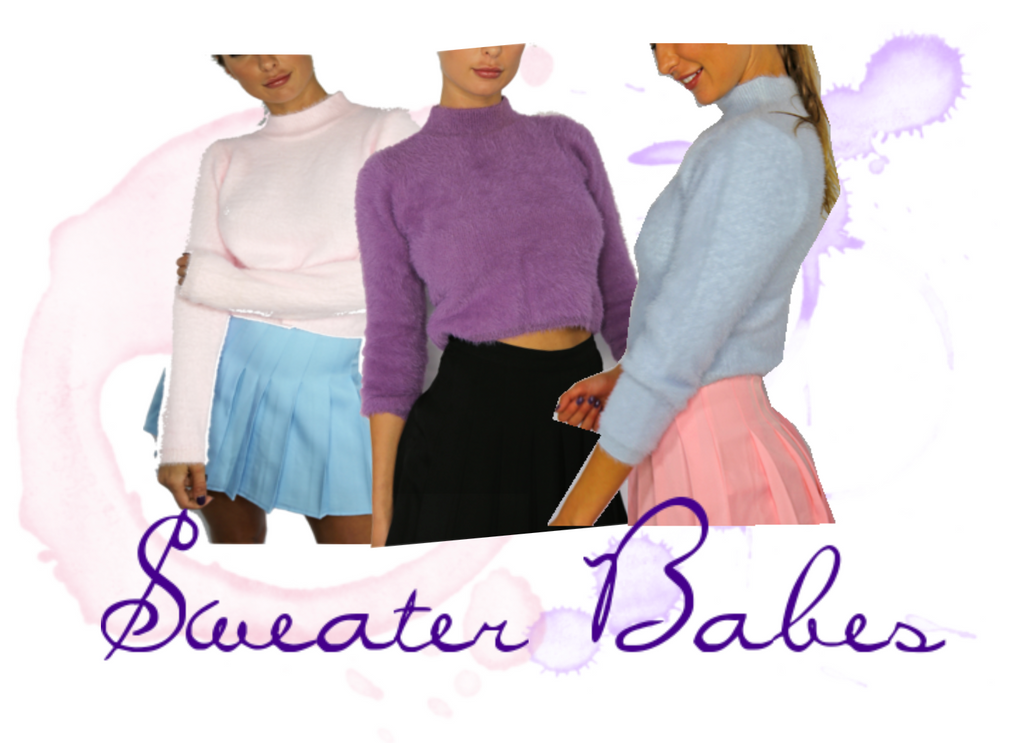 Sweater Babes: Cool Outfits with Cozy Crop Top Sweaters
