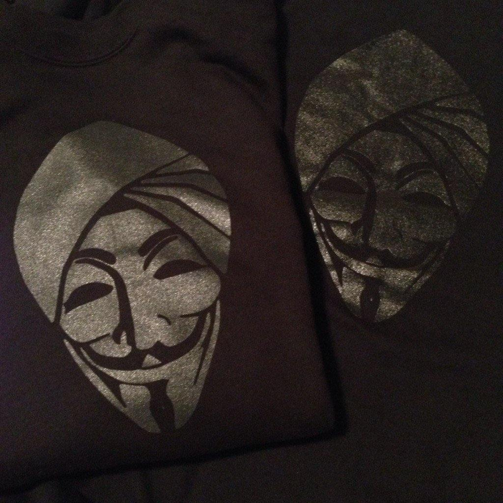 Anonymous Singh Black - Metallic Limited Edition - B-Coalition Clothing Company