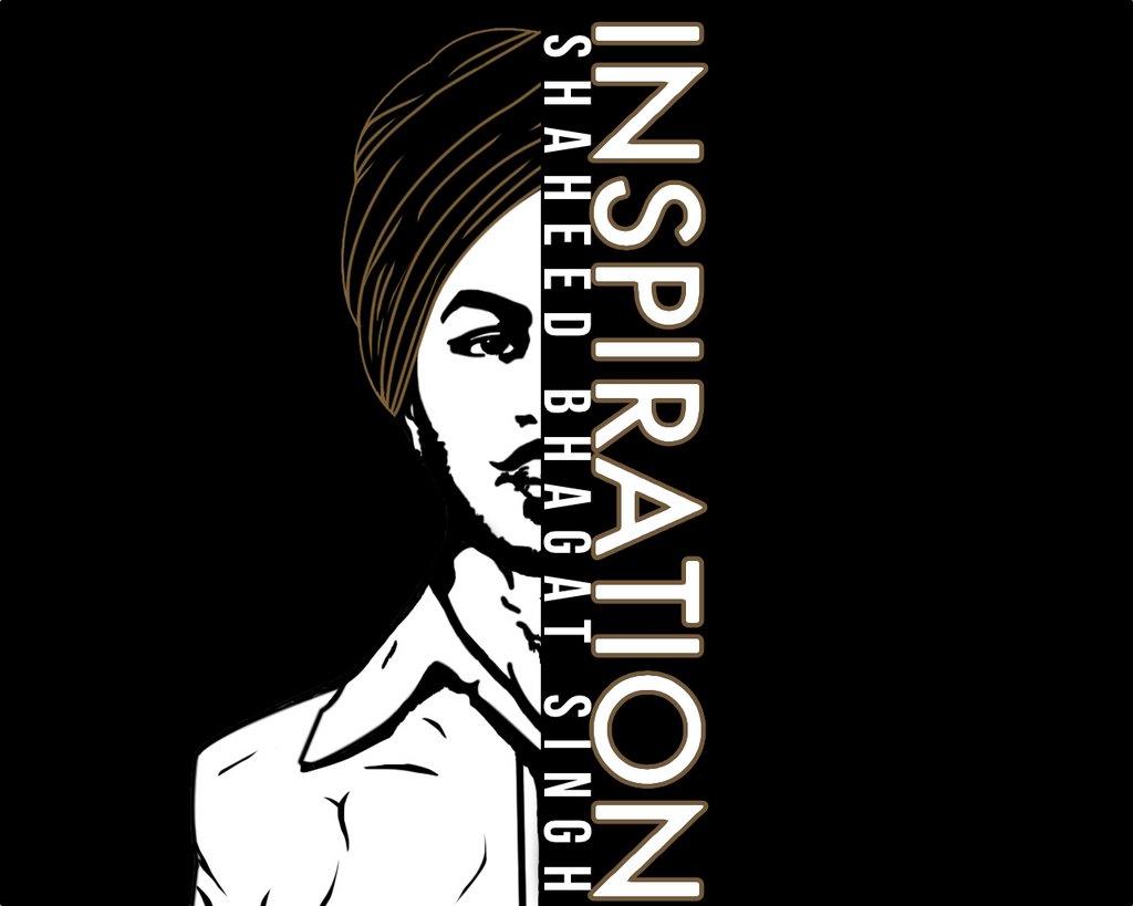 Inspiration - Bhagat Singh - B-Coalition Clothing Company