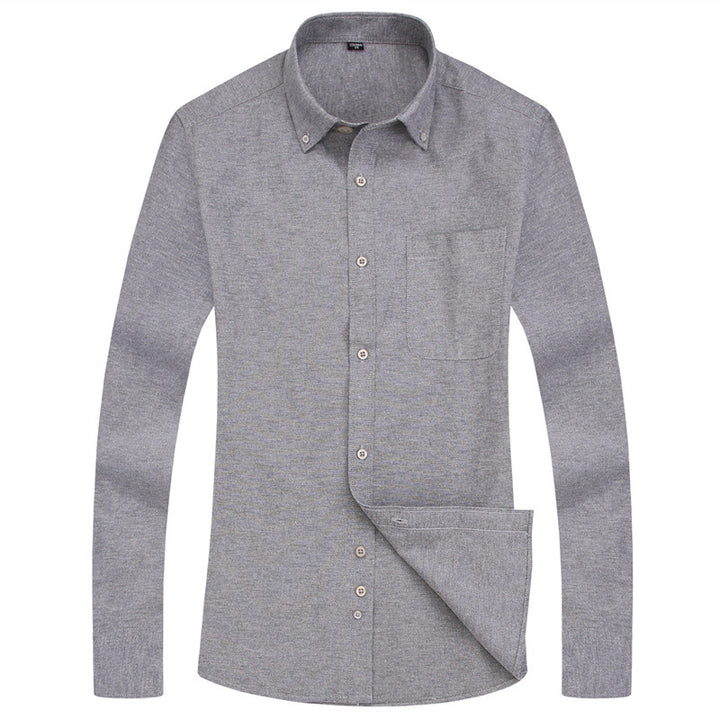 Men's Spring Casual Breathable Long Sleeved Shirt