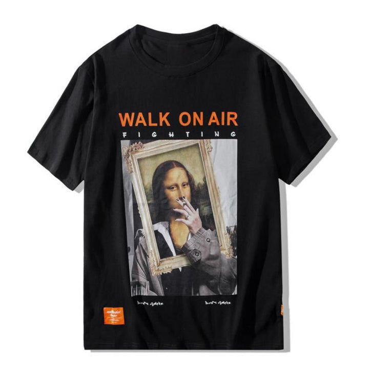 "Men's/Women's Casual T-Shirt ""Walk On Air"""