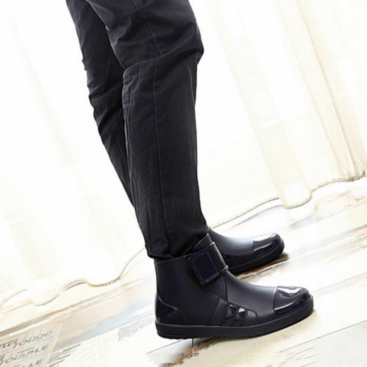 Men's Winter Waterproof Rain Boots