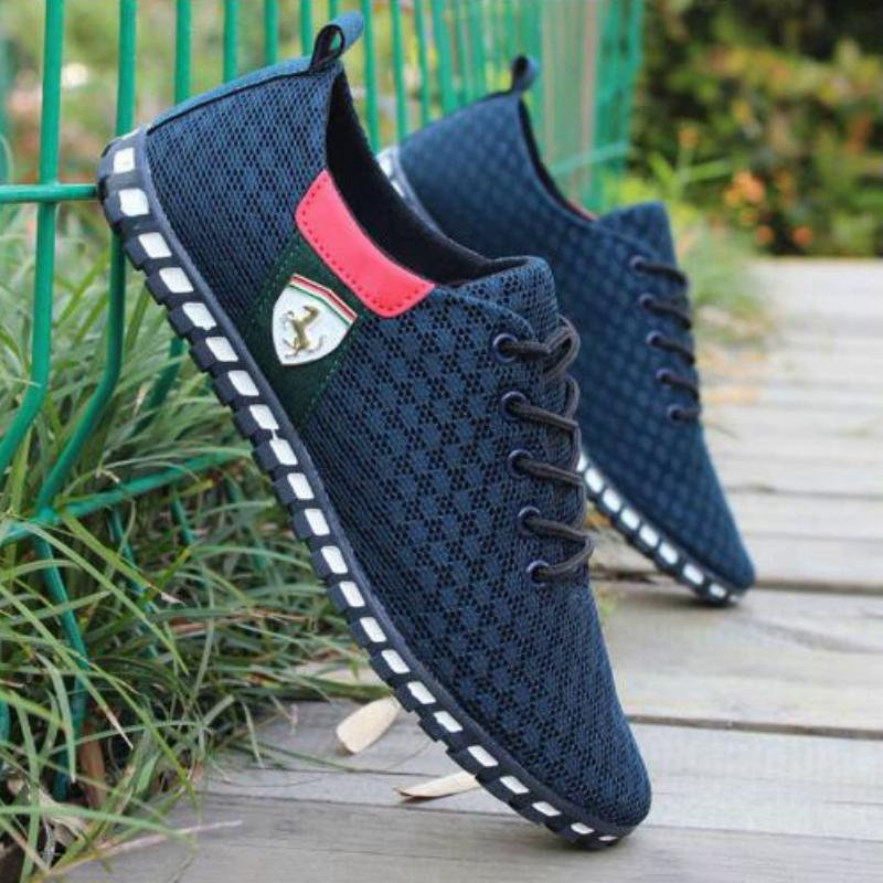 Men's Casual Breathable Mesh Flats