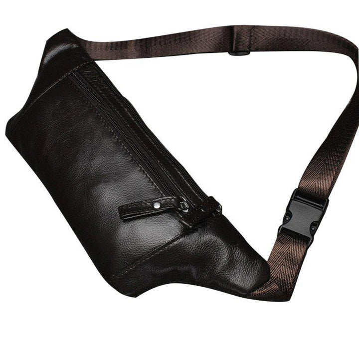 Men's Genuine Leather Waist Pack