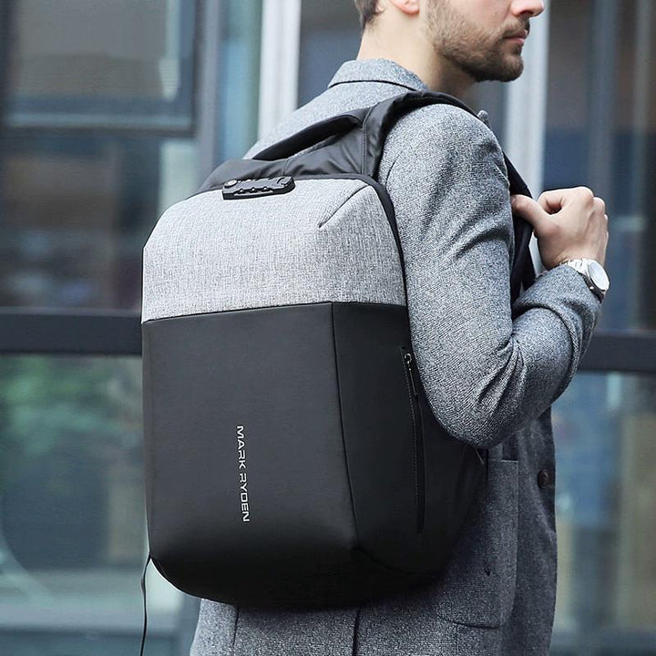 Men's Travel Backpack With USB Charging