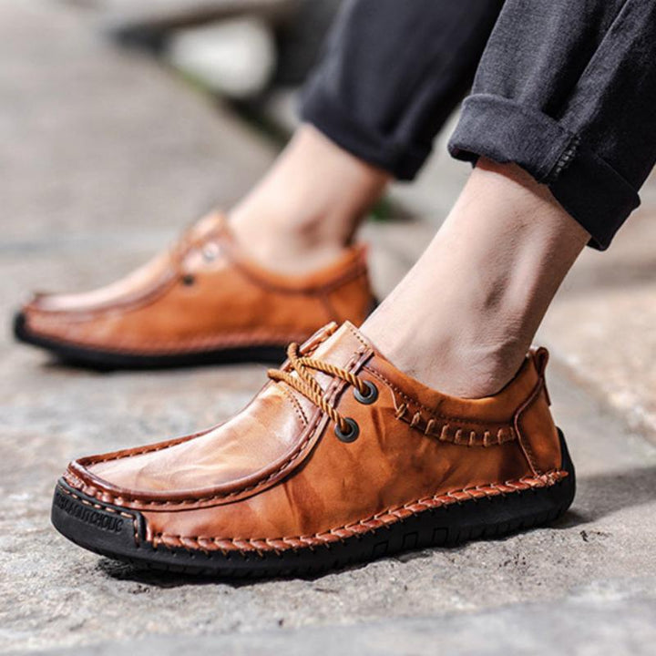 Men's Casual Leather Breathable Loafers