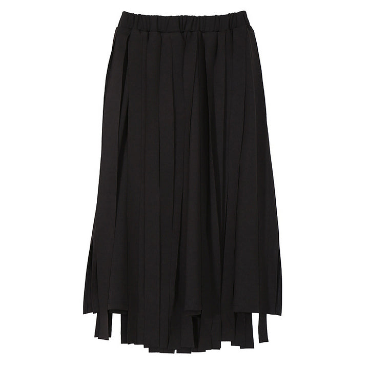 Women's Spring Elastic High-Waist Loose Skirt