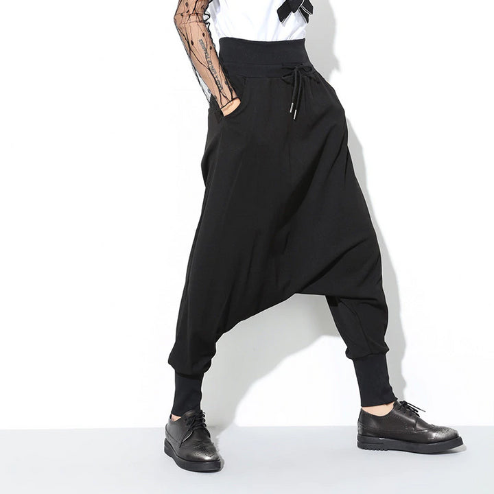 Women's Spring Casual High-Waist Loose Pants