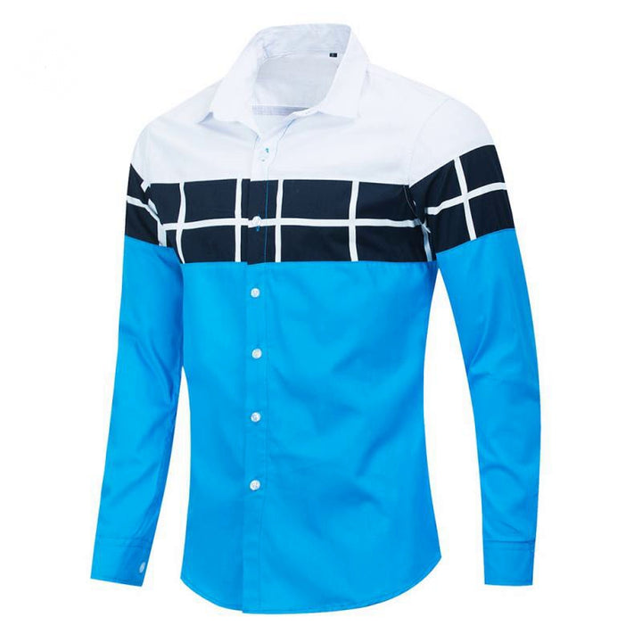 Men's Spring Casual Long Sleeved Cotton Shirt