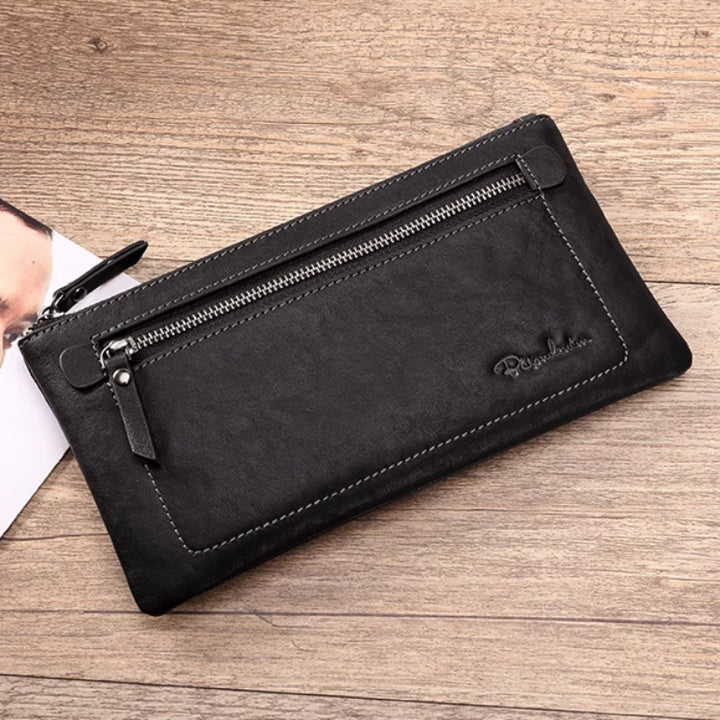 Men's Genuine Leather Set | Wallet And Cardholder