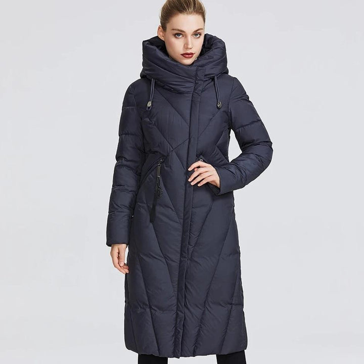 Women's Winter Windproof Thick Hooded Parka