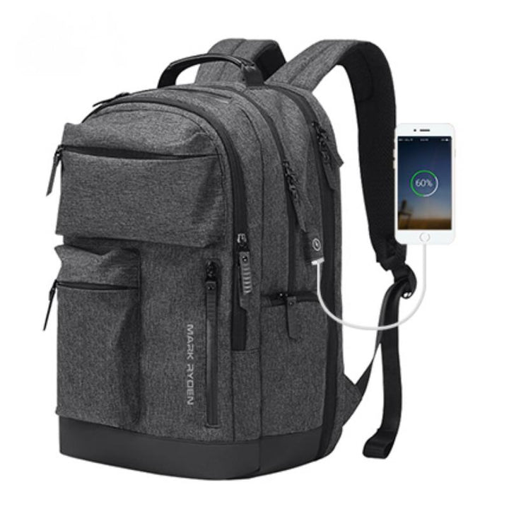 Men's Travel Backpack For 15.6 Inch Laptop