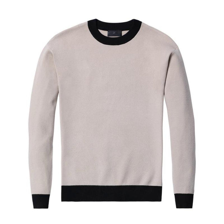 Men's Warm Knitted Pullover
