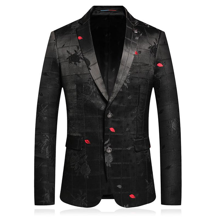 Men's Single Breasted Slim Fit Blazer