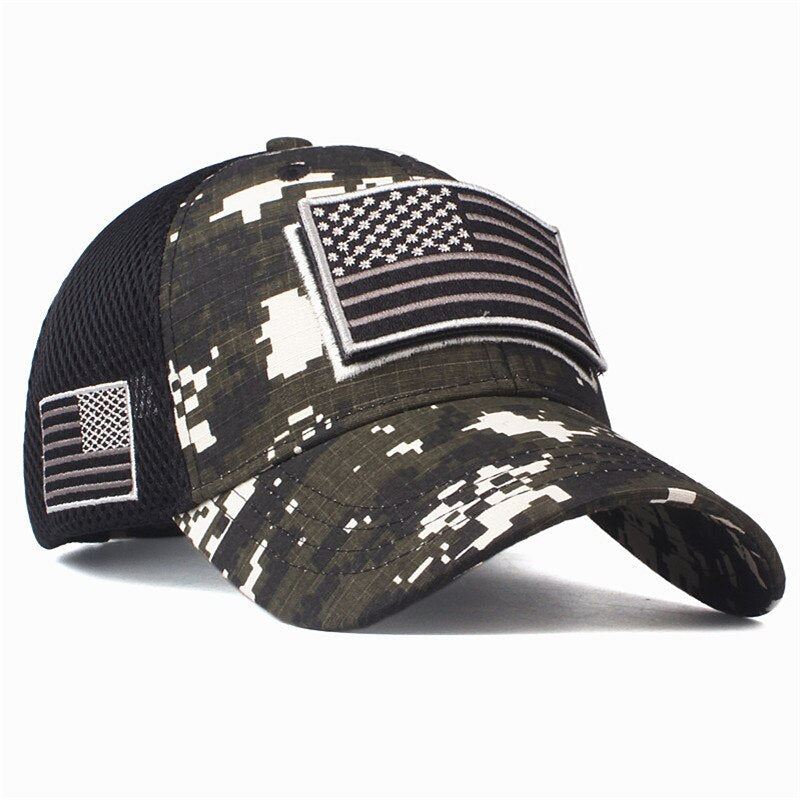Men's/Women's Baseball Cap With Camouflage Print