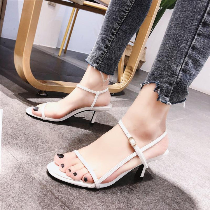 Women's Summer Casual Sandals With Buckles