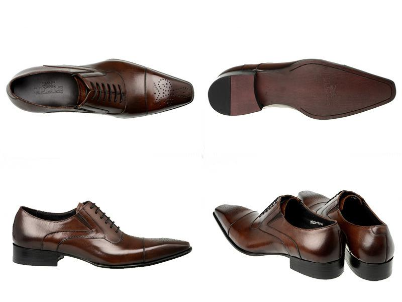 Men's Genuine Leather Oxfords